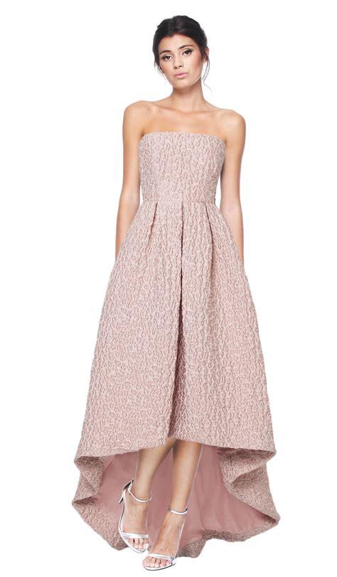 Cyntia Dress strapless dusty dress cynthia rowley hire dresses