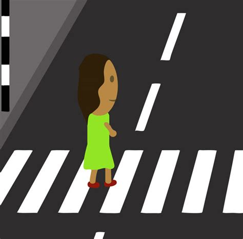 Zebra crossing (illustration)   Free Early Years & Primary