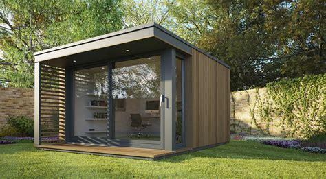 Backyard Office Building by Mini Pod Garden Office Hiconsumption