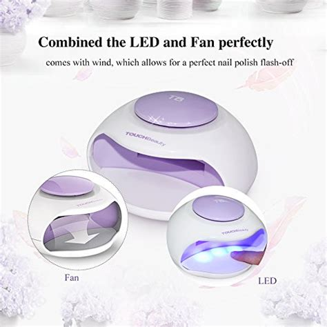 touchbeauty portable nail dryer with air led light