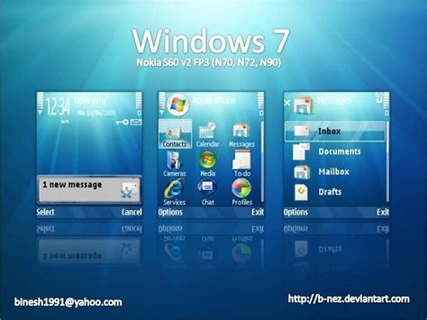 hd themes for s60v3 theme styles free windows 7 theme for s60 n70 n72 n90