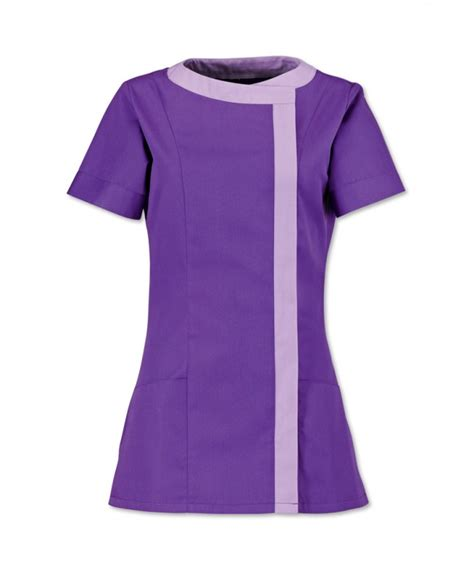 Seragam Dokter S Asymmetrical Tunic With Flattering Front Panel