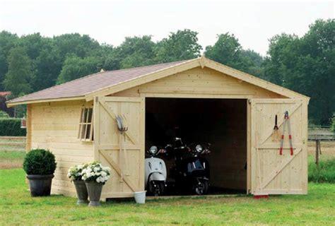 garage da giardino garage box auto in legno da esterno bsvillage