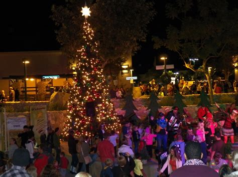 santee lights up for the holidays ecc east county