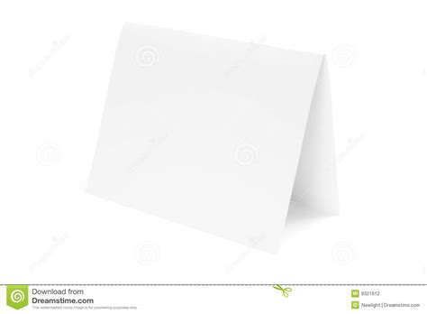 Paper Folded In Half - paper folded in half stock photography image 9321612