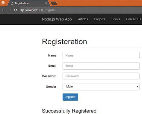 simple node js web application building web application using node js part five