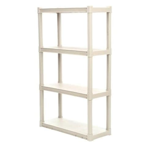 sterilite 4 shelf 34 5 in w x 57 in h x 14 375 in d