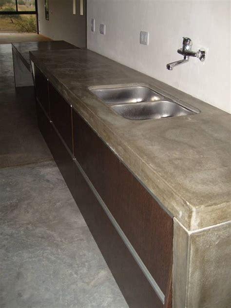 encimera hormigon encimeras de hormig 243 n para la cocina pisos al d 237 a