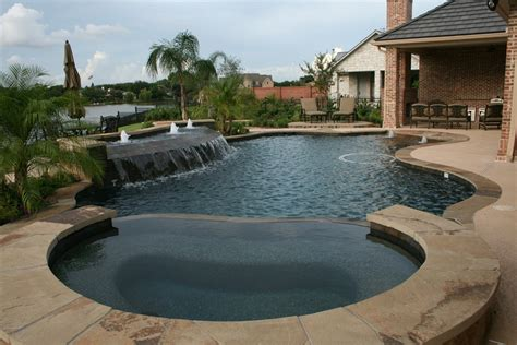 How To Clean Paver Patio by Ocean Blue Pools Inc Tomball Tx 77377 Angies List