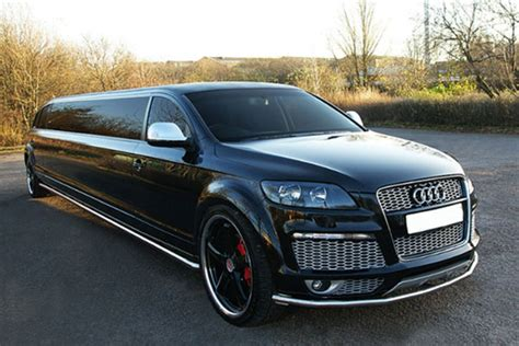 Cheap Audi Q7 by Boostaddict Arrive In Style Stretch Limousine Based On