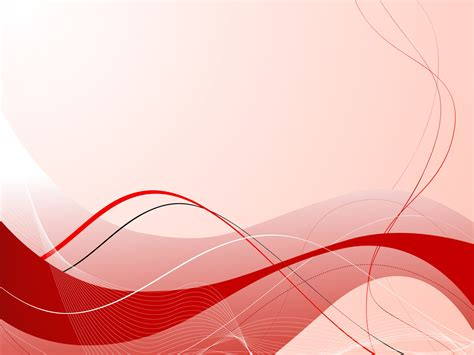 red abstract composition ppt backgrounds 1024x768