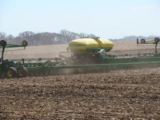 Deere 20 Inch Row Planter by Bacon Square Farm Planting Corn On The Farm 2009 It S