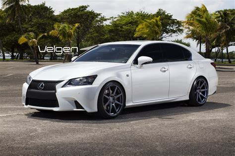 lexus gs350 f sport custom lexus gs350 f sport cars tuning velgen wheels wallpaper