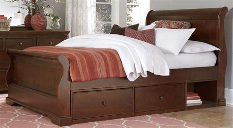 sleigh bed with storage walnut street chestnut riley full sleigh bed with storage 9035ns ne kids