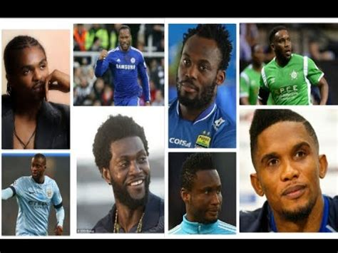 top 10 richest footballers in africa and their net worth top 20 most richest footballers in africa and their net worth