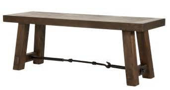 Dining Room Furniture Bench Orient Express Furniture Dining Room Dining Bench Rustic Java 6091 Rjav Hickory