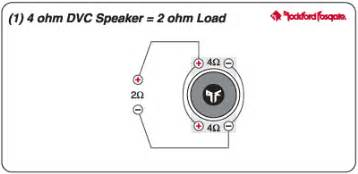 2 4 ohm dvc type r subs using mono amp subwoofers car