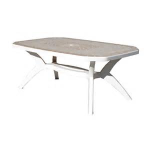 table de jardin grosfillex en r 233 sine collection ibiza
