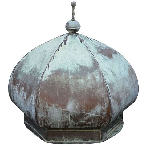 Large Cupola by Vintage Large Copper Cupola At 1stdibs