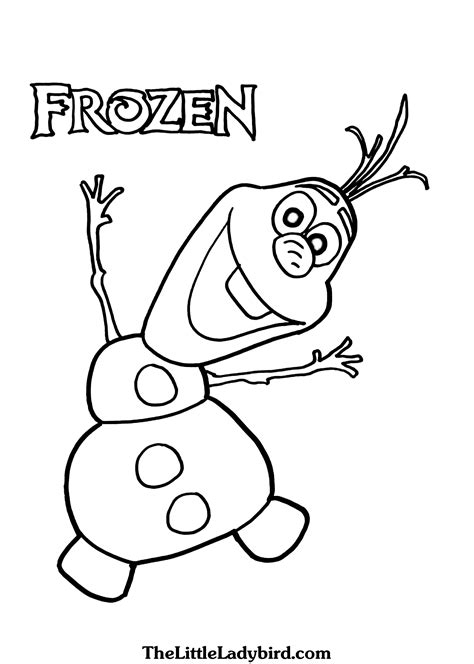 easy olaf coloring pages frozen kristoff coloring pages easy frozen best free