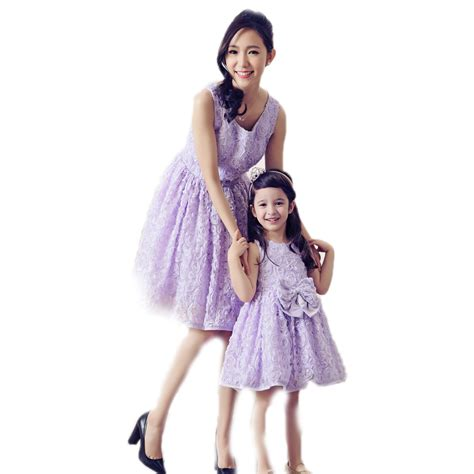 mother and daughter matching dress family matching outfits 2016 brand matching mother