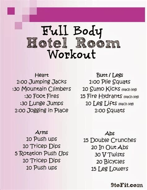 hotel room exercises best 25 hotel room workout ideas on workout ideas work outs and post pregnancy
