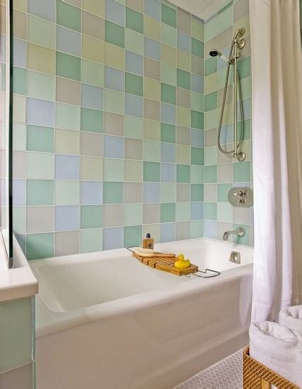 pastel colors  small bathroom