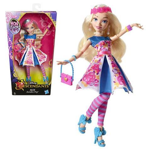 disney descendants neon lights dolls disney descendants neon lights ally of auradon prep doll