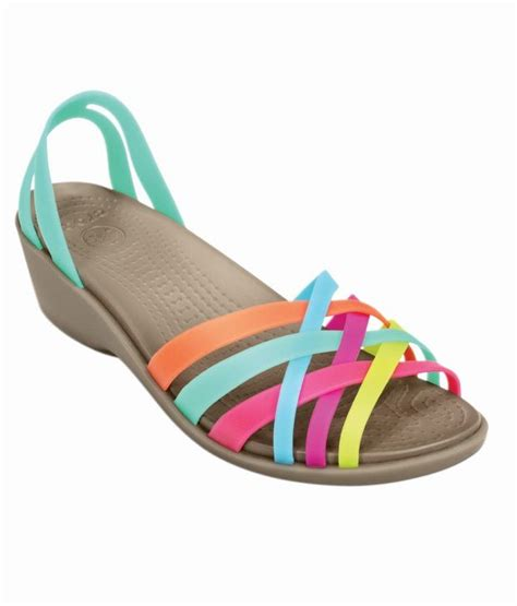 multi colored crocs crocs multi color heeled slip on relaxed fit price