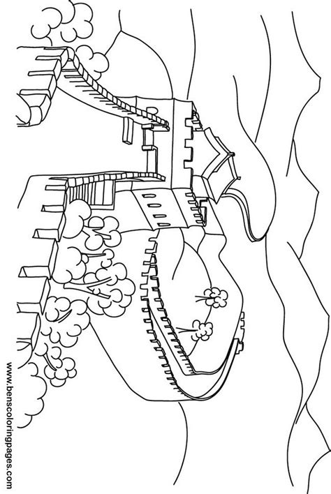 coloring book how great great wall of china coloring pages