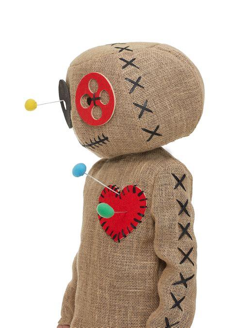 burlap voodoo doll costume  kids