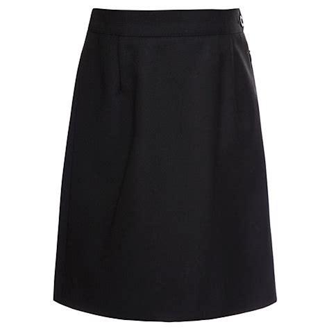 buy school wool mix pencil skirt black lewis
