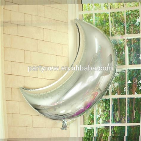 Moon Shaped Balloon best quality custom crescent moon shaped foil balloons 24