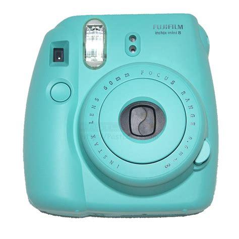miniature polaroid instax mini 8 polaroid turquoise