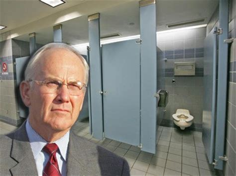 all this is that ex senator larry craig back in the news