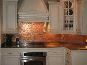 Penny Kitchen Backsplash Gallery For Gt Copper Penny Backsplash