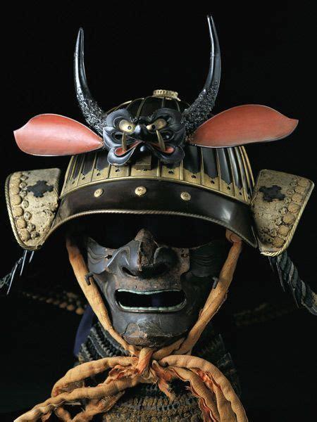 samurai demon armor samurai mask was meant to scare it depicted demon faces