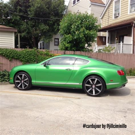 green bentley 10 things i learned while driving an apple green bentley