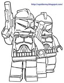lego star wars coloring pages stroom tropers squid army
