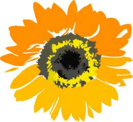 Sunflower Outline Png by Sunflower Flower Clipart Clip At Clker Vector Clip Royalty Free