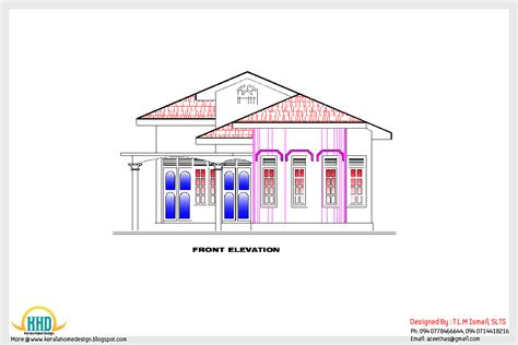 Home Floor Plans 2800 Square Feet home plan and elevation 1200 sq ft indian home decor