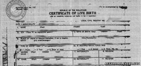 National Statistics Office Birth Certificate Records How To Get Birth Certificates In Cebu Civil Documents 397