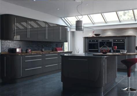 meuble haut cuisine gris anthracite solutions pour la