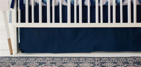 navy aztec crib rail cover navy baby boy bedding aztec