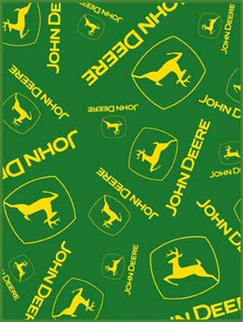 Green Crib Bedding John Deere Multi Logo 60 Quot X 80 Quot Classic Collection Blanket