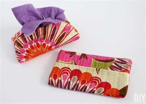 Tissue Pouch learning to sew tissue cozy sewing tutorial for beginners