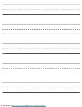 Permalink to Free Printable Lined Paper Template For Kids