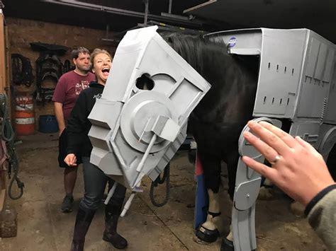 AT-AT Star Wars Horse Cosplay X 23 Cosplay