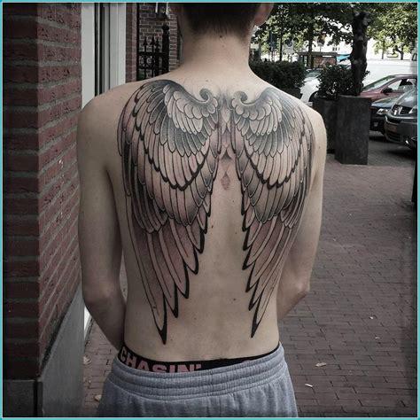 Imagenes Tatuajes Alas De Angel | tatuajes de alas de angel y demonios los mejores