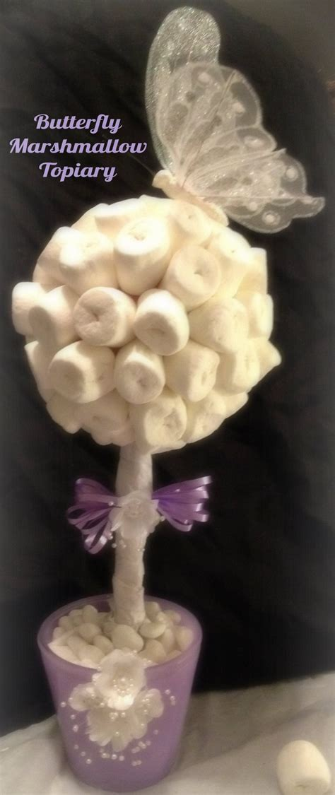 themes in marshmallow marshmallow topiary centerpiece butterfly theme 24 99